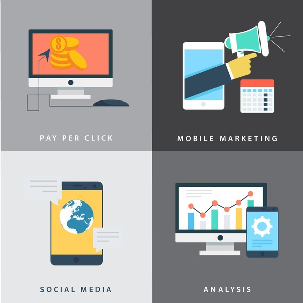 Digital marketing free vector download 4,242 Free vector for commercial use. format: ai, eps