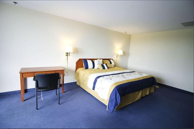 Ενα τυπικό δωμάτιο στο Ξενοδοχείο Γρίπη