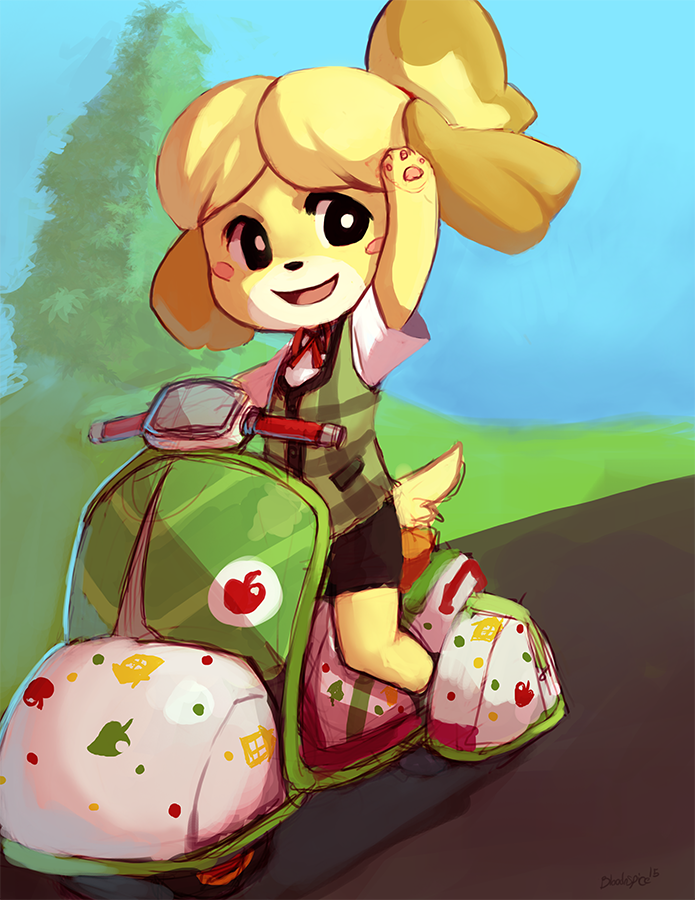 isabelle by bloodnspice d8r9tzu - Isabelle (Animal ...