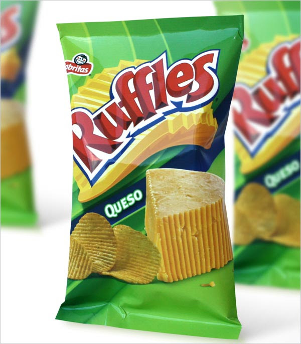 Ruffles Queso Chips Packaging 2 30+ Crispy Potato Chips Packaging Design Ideas