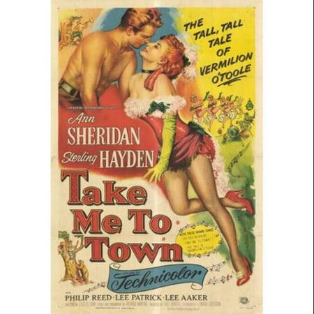 Resultado de imagem para take me to town poster