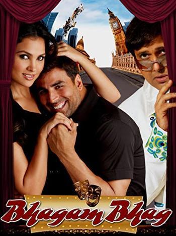 Bhagam Bhag 2006 Hindi 480P BrRip 450MB, bollywood hindi movie Bhagam Bhag 2006 Hindi 400mb brrip bluray 480P BrRip 300MB 350mb free dowload or watch online at world4ufree.be