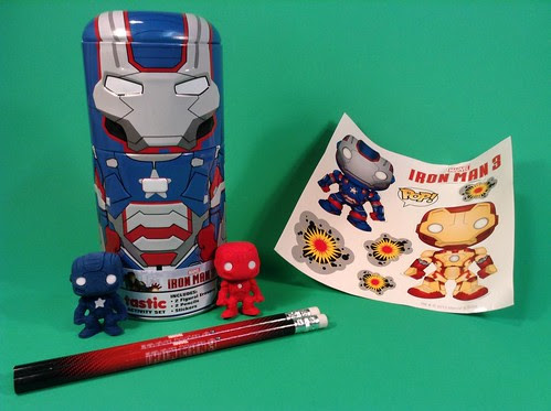 Loot Crate December 13 Funko Iron Patriot can
