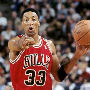 English: Chicago Bulls Scottie Pippen 1995