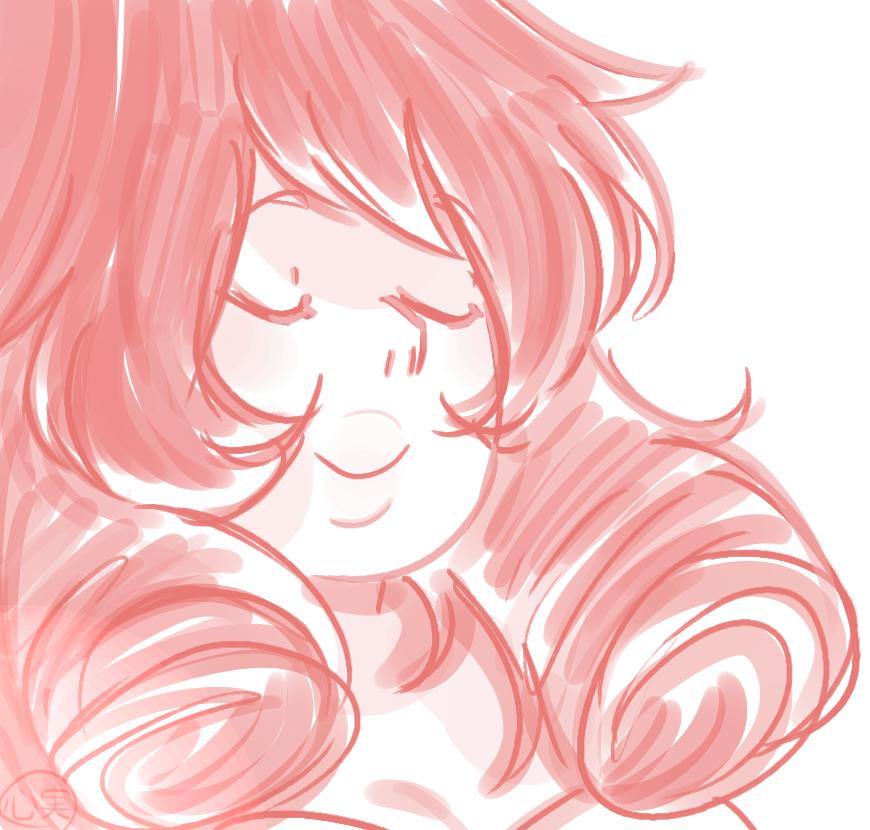 the lovely rose quartz ♥