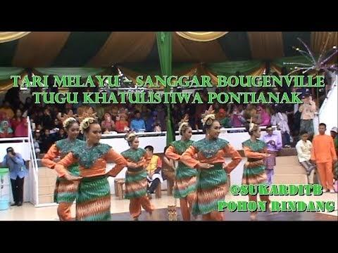 Tari Melayu – Sanggar Bougenville – Tugu Khatulistiwa Pontianak