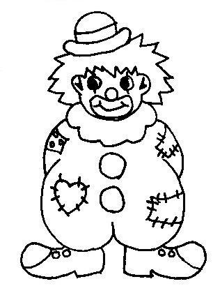 ausmalbilder clown kostenlos malvorlagen zum ausdrucken page 3 sur 6 affefreund - simple