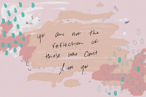 """sudeikat:""""When they don't love you the way you want to, you mourn that for however long you need to. But then you get back up and you remind yourself. You are not a reflection of the people who can't love you. You will love again. You will be loved again."""" - Caitlyn Siehl"""