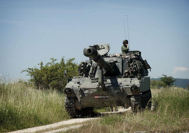 El Ministerio de Defensa de Letonia adquirirá un obús de autopropulsado M109A5 de segunda mano de 155 mm de Austria. Un total de 47 obuses automotores serán entregados a Letonia por Austria.