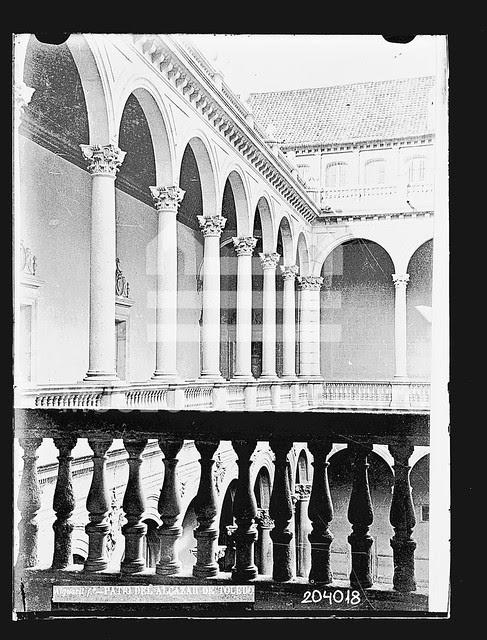 Alcázar en el siglo XIX © Museo del Ejército, Ministerio de Defensa