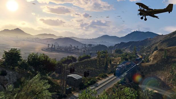 GTA 5 on PC 4K screenshot