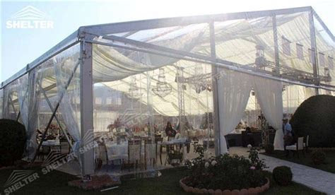 Clear Marquee Tent   Shelter Wedding Tent