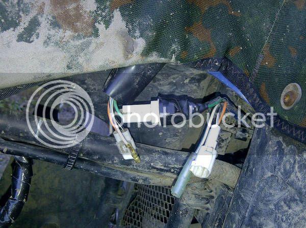 Suzuki King Quad Wiring Harnes