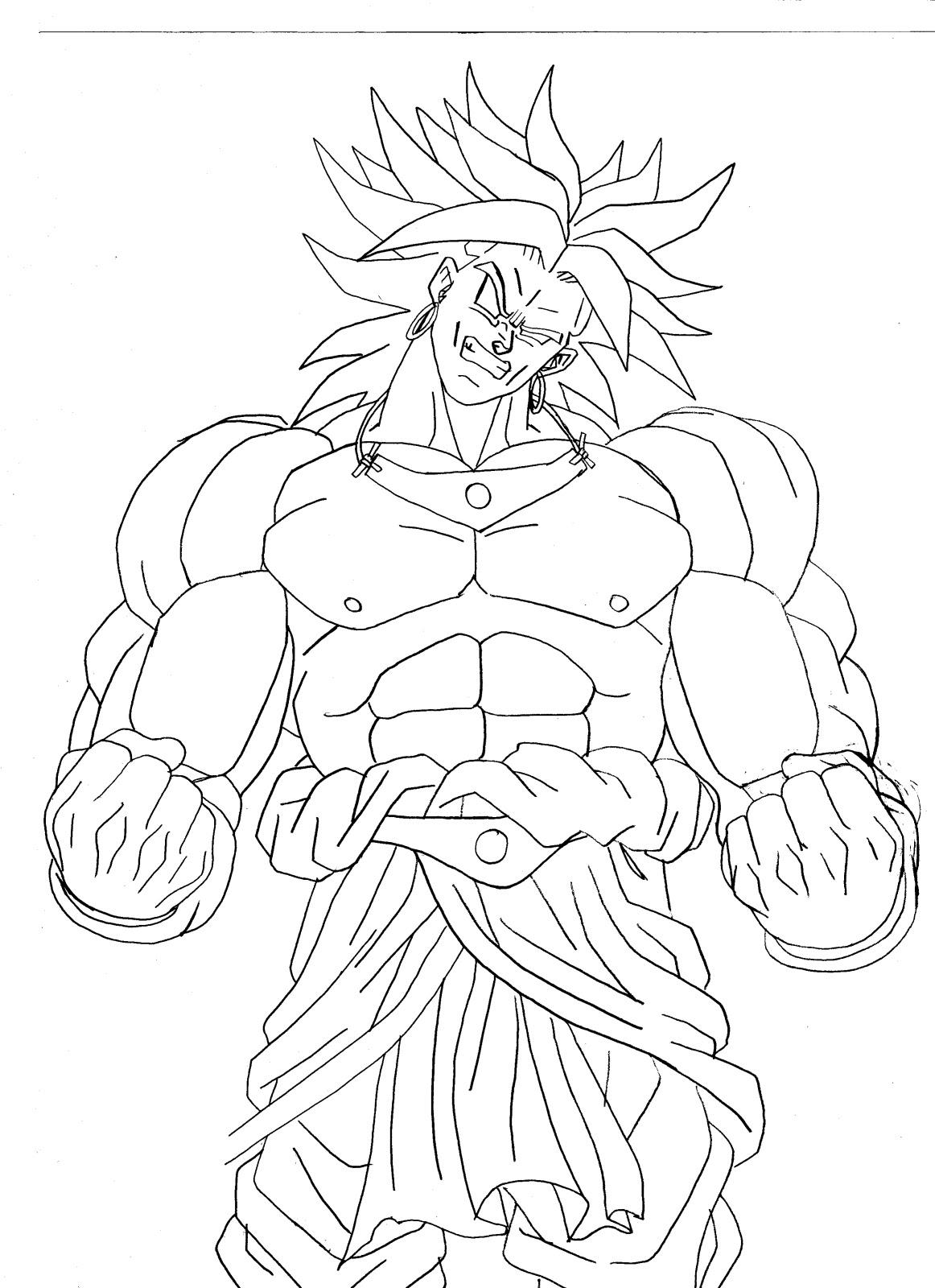 Blog Megadiverso Dragon Ball Para Colorear E Imprimir