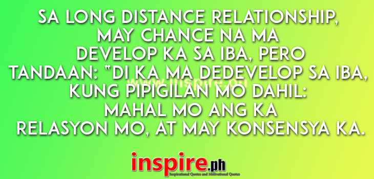 Long Distance Relationship Quotes Tagalog By Malungkotcom