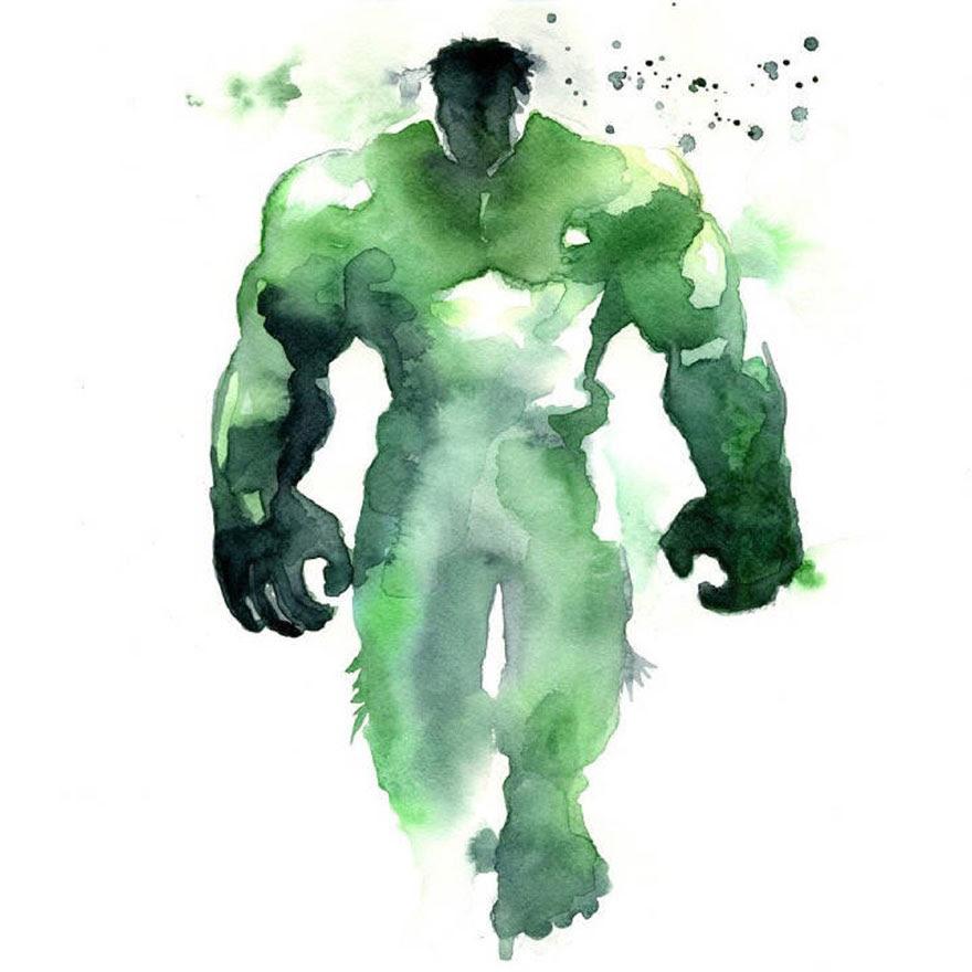 ilustraciones-superheroes-acuarelas-blule (4)