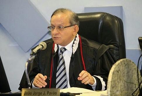 Jorge Pavão, presidente do TCE.