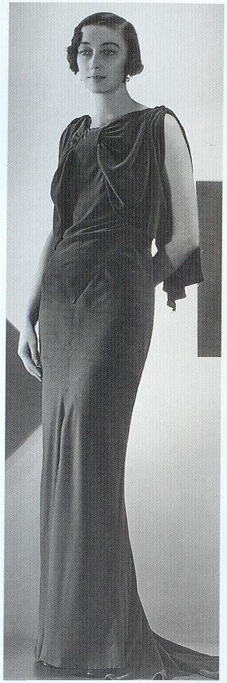 Dress by Robert Piguet, 1930s