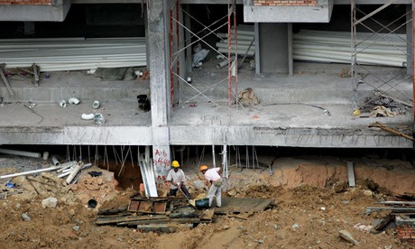 MDG : Malaysia foreign workers on construction site : Human Trafficking report