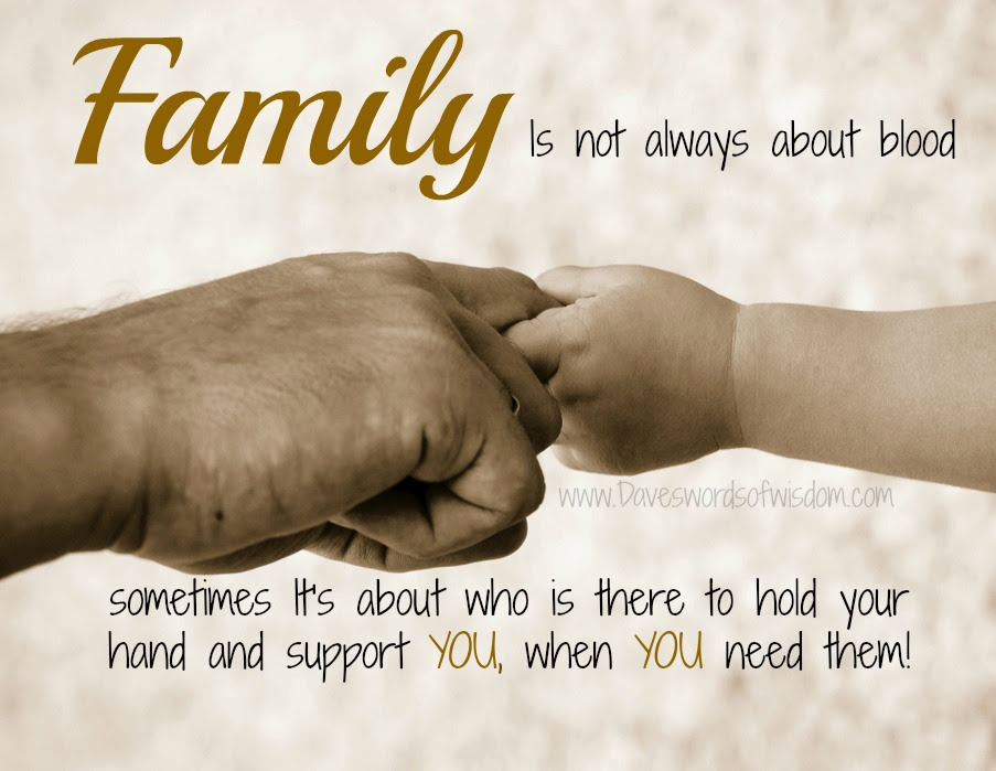 Quotes About Family Not Being There 29 Quotes