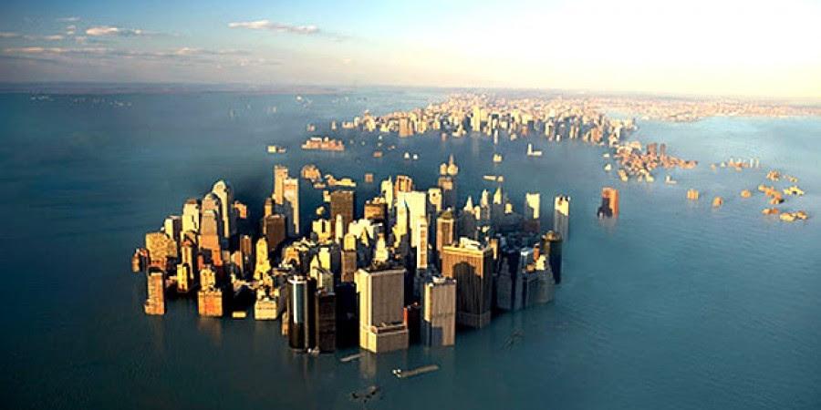Το επίπεδο της θάλασσας θα ανέβει εως 6 μέτρα