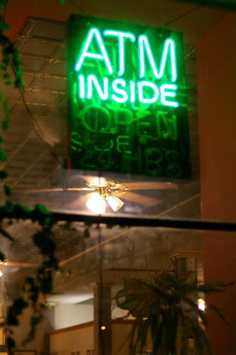 Late Espresso Cafe with pentax fa 50 f/1.4