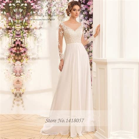 Cheap Wedding Dress China Long Sleeve Lace Wedding Gowns
