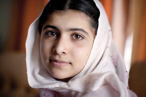 Fotografía de Malala. Click 'mostrar siempre imágenes' si nos ves esta imagen.