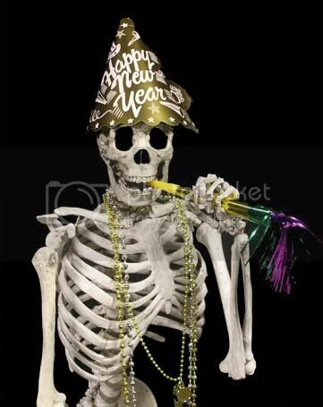 new year skeleton Pictures, Images and Photos
