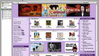 Apple iTunes Music Store Screenshot