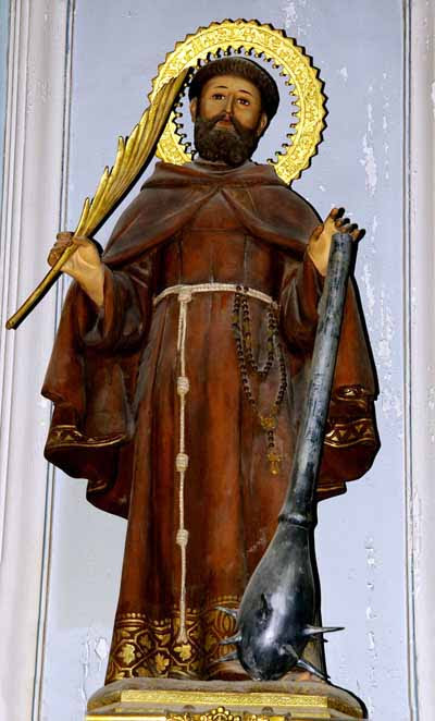 Statue of St. Fidelis of Sigmaringen