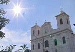 Igreja em São Luiz do Paraitinga. (Foto: Reprodução/TV Vanguarda)