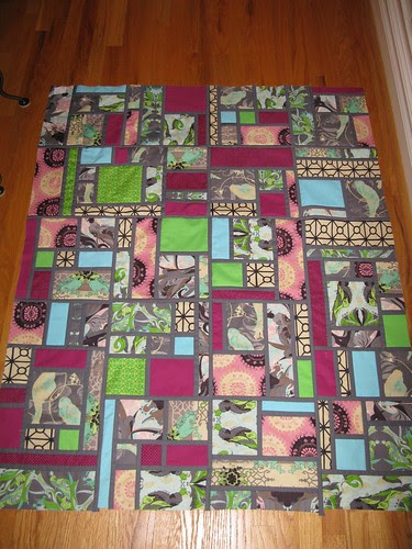 Stained Quilt top, finish!