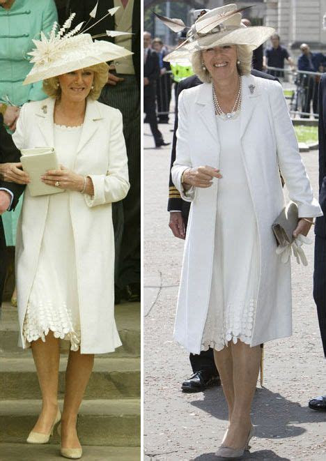 Camilla recycles wedding dress two years after big day