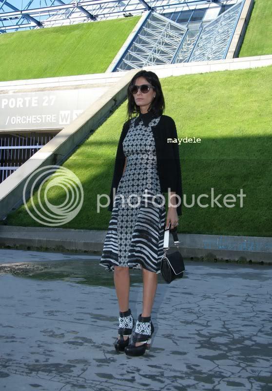 Maryam Malakpour wearing Rodarte