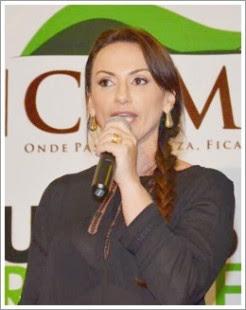 Cristiane Damião, prefeita de Bom Jesus das Selvas