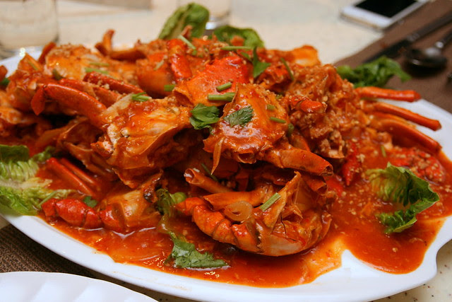 Chili Crab at PARKROYAL on Beach Road
