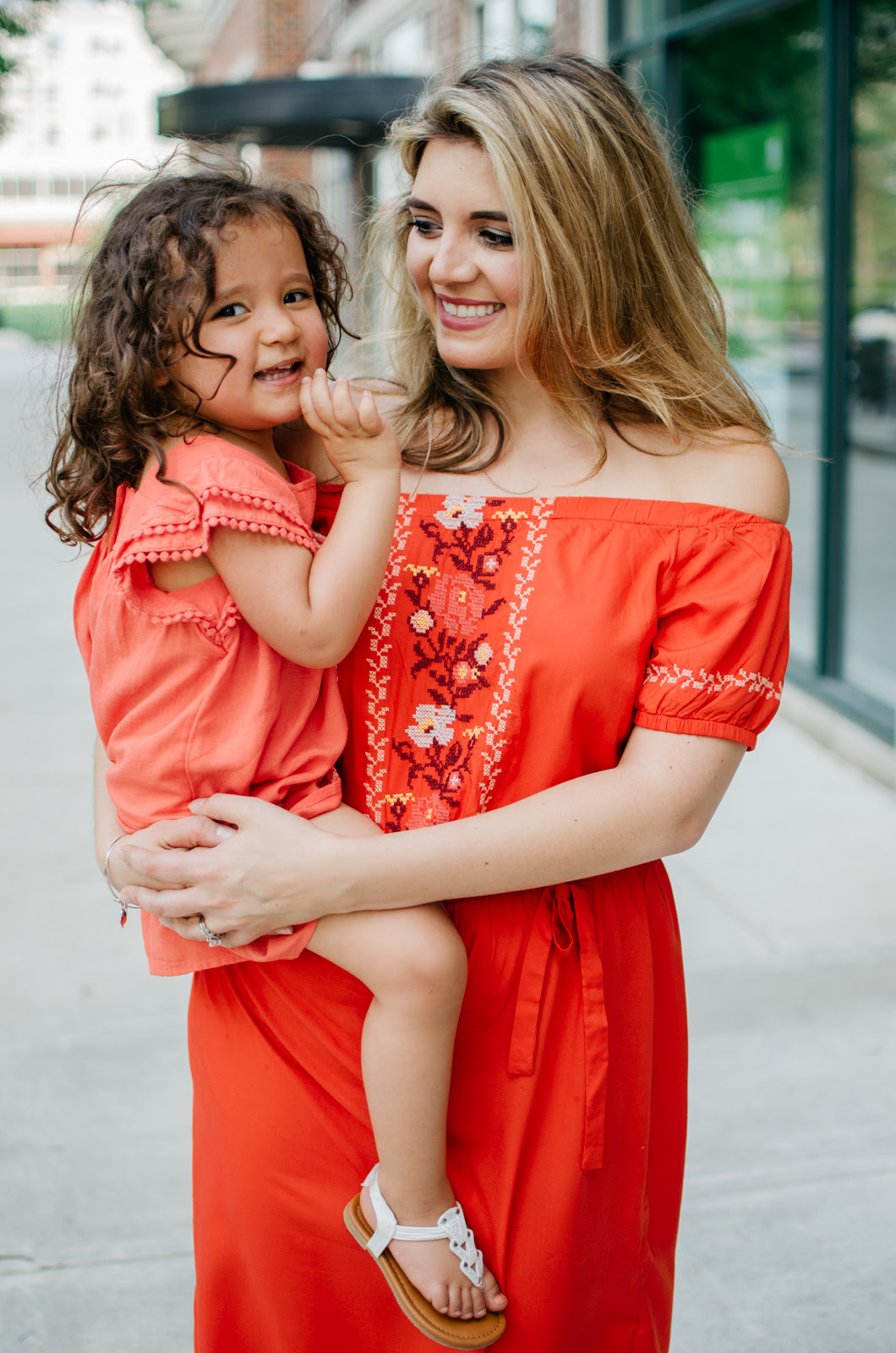 mother daughter matching outfits  mother's day gifts with