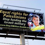 Billboards critical of Israel removed