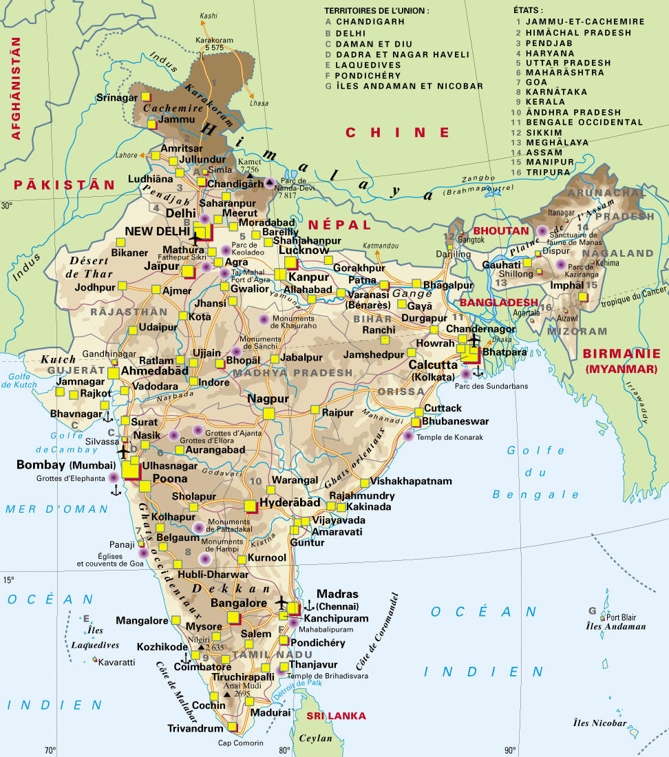 India Map 1900