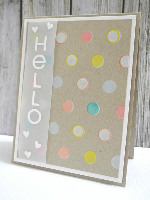 Polka Dot Hello