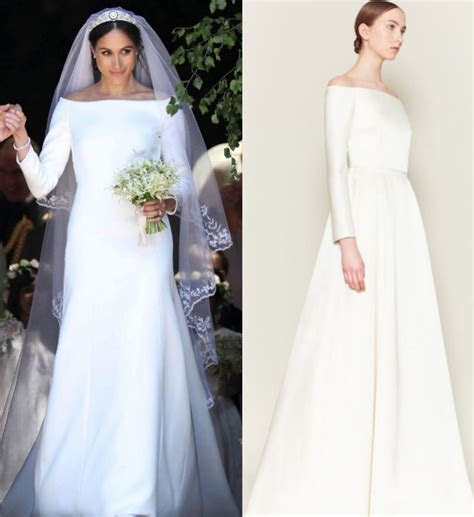 Meghan Markle's wedding dress accused of copying designer