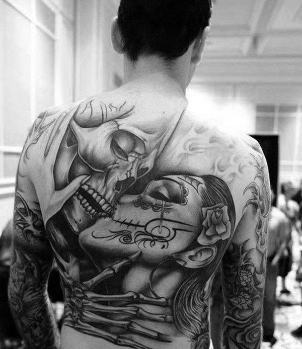 85 Best Sugar Skull Tattoo Designs Meanings 2019
