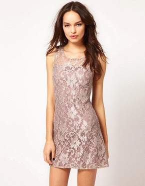 Image 1 of Paprika Lace Vest Dress