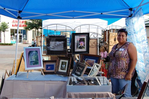 LaTonia Barto, West Edge Art Market, La Boardwalk / Lynn Laird by trudeau