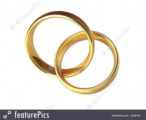 Celebration: Gold Wedding Rings Together   Stock