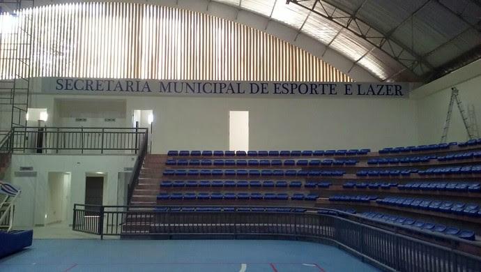 Ginásio Palácio dos Esportes, em Natal (Foto: Divulgação)