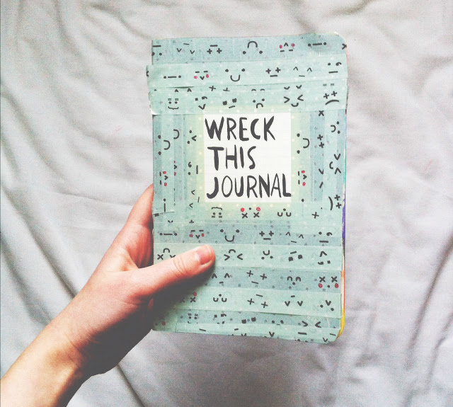 uk lifestyle blog vivatramp wreck this journal