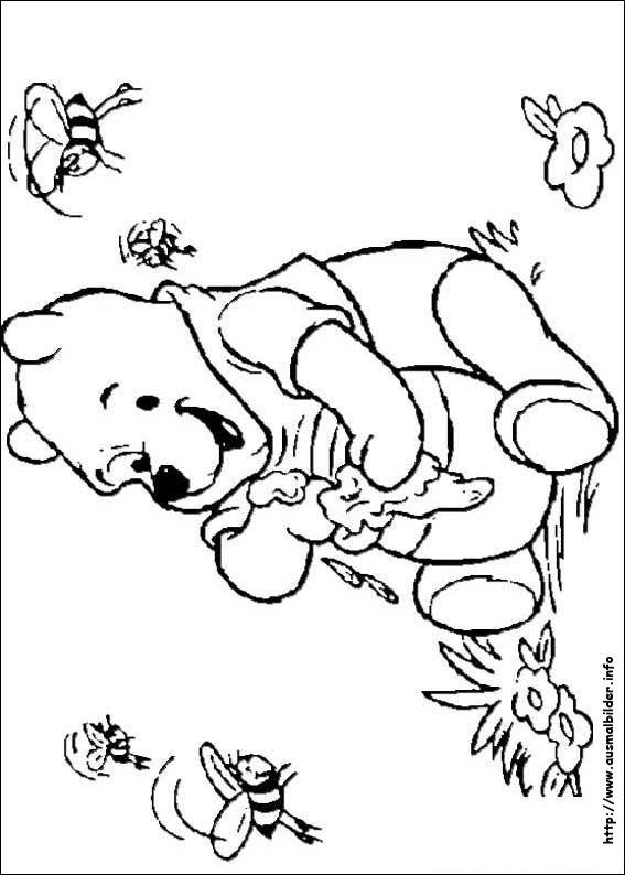 Nett Baby Winnie Puuh Ausmalbilder Zeitgenössisch - Beispiel ...