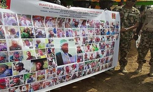 Wanted Boko Haram suspect